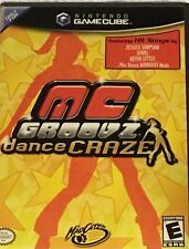 Nintendo GameCube MC GROOVZ Dance Workout Craze Mad Catz SIMPSON JEWEL KC JAZZY
