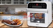 Heißluft Fritteuse Airfryer mit Touchscreen + zubehör 12 Liter Garraum 1600 watt