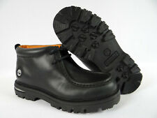 Youth Boys Timberland Boots Black Chukka Ankle Waterproof Hiking Size 13.5Y M