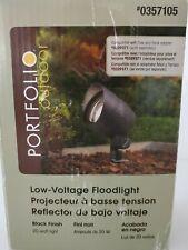 Portfolio Outdoor Low Voltage Floodlight Open Box