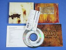 Nine Inch Nails ‎ The Downward Spiral, Japan CD Obi slipcace + 1 BONUS