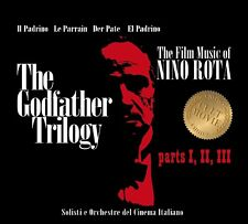 OST/NINO ROTA - GODFATHER TRILOGY PART 1,2,3 2CD NEU