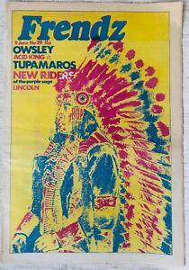 Frendz Magazine issue 29  - 9th June 1972: Owsley, Acid Kings, Prisons, Vietnam
