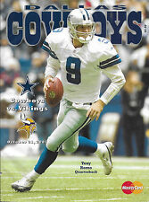 Dallas Cowboys vs Viking Program October 21, 2007