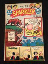 Sparkler #83 Hogarth Cover! Vg Condition