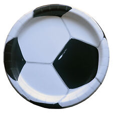 8 3D Football Party Plates|Football Party|Party Plates|Paper Party Plates