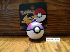 Pokemon Pokeball Keychain Purple