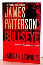 BULLSEYE by James Patterson TRADE SIZE BOOK Read Only Detective Michael Bennett