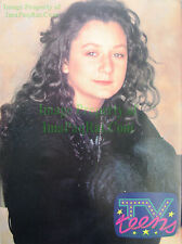 1992 Sara Gilbert TV Teens Pin-up Poster Roseanne Big Bang Theory The Talk Host