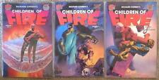 RICHARD CORBEN'S ~ CHILDREN OF FIRE ~ NO. 1-3 ~ DEN ~ COMIC BOOK SET