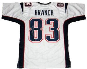 Deion Branch Signed New England Patriots Jersey (JSA COA) Super Bowl MVP (XXXIX)