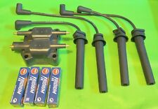 Mini Cooper R50 R52 R53 W10 W11 Upgrade Ignition Coil+Spark Plugs Tune Up Set