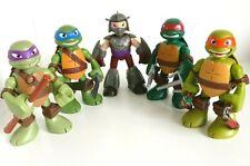 TMNT Teenage Mutant Ninja Turtles Half Shell Heroes Talking Figures - Full Set