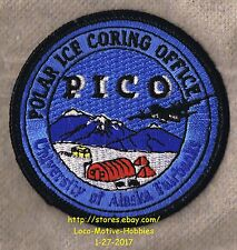 LMH PATCH Badge PICO University Alaska POLAR ICE CORING OFFICE Program Fairbanks