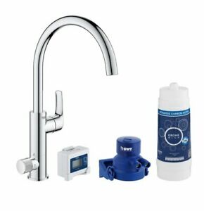 Grohe Blue Pure Chrome effect Filtered hot & cold water tap 5533