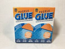 2-Pack Masterpieces Puzzle Glue 5 oz. Includes Easy to Use Applicator
