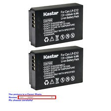 Kastar Replace  Camera Battery for Canon LP-E12 LC-E12 & Canon EOS M50 Camera