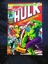 HULK #181 1st App WOLVERINE Comic Book Magazine 1974 NM 9.4 Key CGC it X-Men