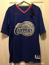 NWT NBA Los Angeles Clippers 100% Authentic Adidas Blank Jersey - MED - $100