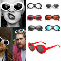 Kurt Cobain Clout Goggles Rapper Glasses Unisex Sunglasses White Oval Goggles AU