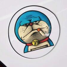 Cartoon Doraemon Funny smoking CAT Kitty Wall Decal Sticker Car  Smoke fuel tank