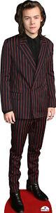 Harry Styles in Red Stripe Suit Cardboard Cutout
