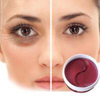 60Pc Ginseng Gel Eye Mask Collagen Anti Wrinkle Eye Bags Dark Circles Puffiness