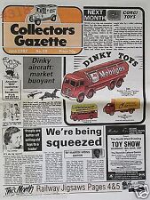 DINKY Aircraft Market Buoyant ... Collectors Gazette June 1987 No. 59