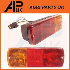 Pair JCB 3CX Parts Rear Light Unit Complete 4CX Side Indicator Lamp + Plug Lens