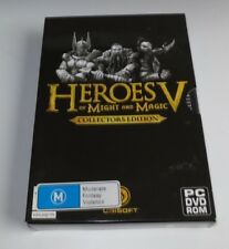 Heroes Of Might And Magic V Collectors Edition - PC Game - edc