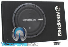 "MEMPHIS CSA112SP 12"" LOADED 700W ENCLOSED SUBWOOFER BASS SPEAKER BOX AMPLIFIER"