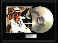 ELTON JOHN GREATEST HITS RARE WHITE GOLD PLATINUM TONE RECORD VINYL LP NON RIAA