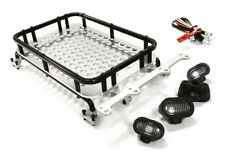 INTEGY C26611GUN 1/10 Scale Luggage Tray 154x98x33mm w/4 LED Spot Light Set