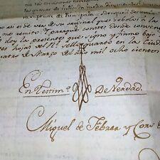 Memorial de churchof Sant Joan de las Trial para reclamar Alquileres. España. 1774-1853