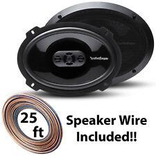 "Rockford Fosgate P1694 6x9"" Punch Series 4-Way Car Audio Speakers 150 Watt Max"