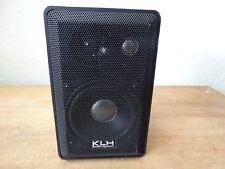 One (1)  KLH Audio System 979B Indoor Outdoor Bookshelf 3 Way Speaker
