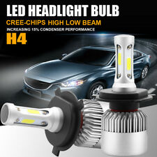 Autofeel COB H4 HB2 9003 900W 135000LM LED Headlight Kit Hi/Lo Power Bulbs 6500K