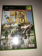 Xbox Men of Valor VideoGames-Tested-Collect ible Vintage-Fast Ship In 24 Hrs