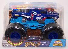 2019 Hot Wheels Monster Trucks 1:24 HOTWEILER HWPD K-9 Monster Truck NIB