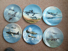 More details for raf reach for the sky set of 6 plates