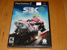 SBK Superbike World Championship PS2 Sony PlayStation 2 NEW+SEALED Motorcycles