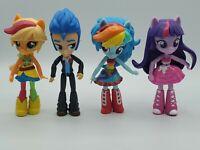 My Little Pony Equestria Girls Mini Figures School Dance Lot of 4 Flash Sentry