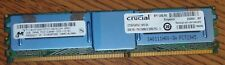 CRUCIAL TECHNOLOGY - CT25672AF667 - CRUCIAL 2GB, 240-PIN DIMM, DDR2 PC2-5300 MEM