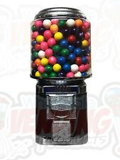 Wholesale Vending Products All Metal Bulk Vending Gumball Candy Machine (Black)