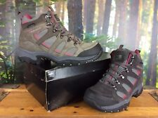 KARRIMOR LADIES UK 4 EU 37 GREY PINK BODMIN WALKING HIKING BOOTS