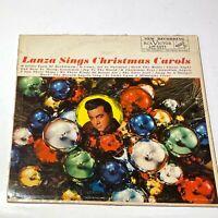 Mario Lanza Sings Christmas Carols: RCA Victor Red Seal 1959 Vinyl LP (Pop)