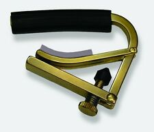 Shubb C1B Guitar Capo, Brass Finish