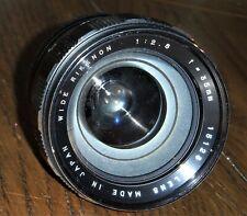 Wide Rikenon 35mm 1:2.8 f=35mm  15123 Japan Made Camera Lens Vintage