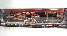 "MAISTO 11516 Harley-Davidson Custom HAULERS ""Black"" METAL Scala 1:64"