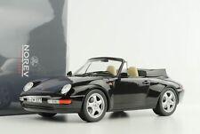 1:18 993 911 Porsche Cabrio Cabriolet 1995 Negro Norev 187595